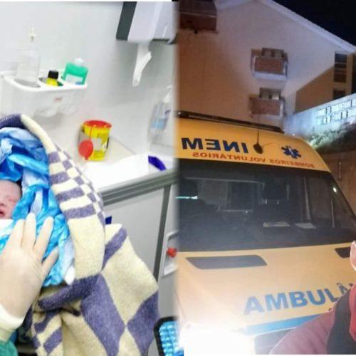 Bombeiros de Oliveira do Hospital fazem parto em ambulância a caminho da maternidade (com vídeo)