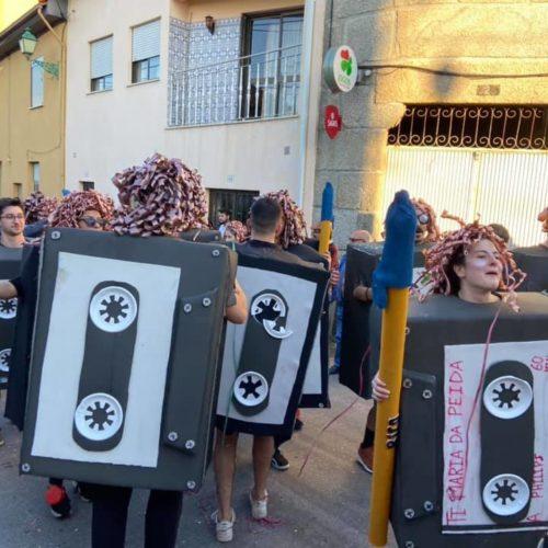 Cortejo de Carnaval animou freguesia de Seixo da Beira