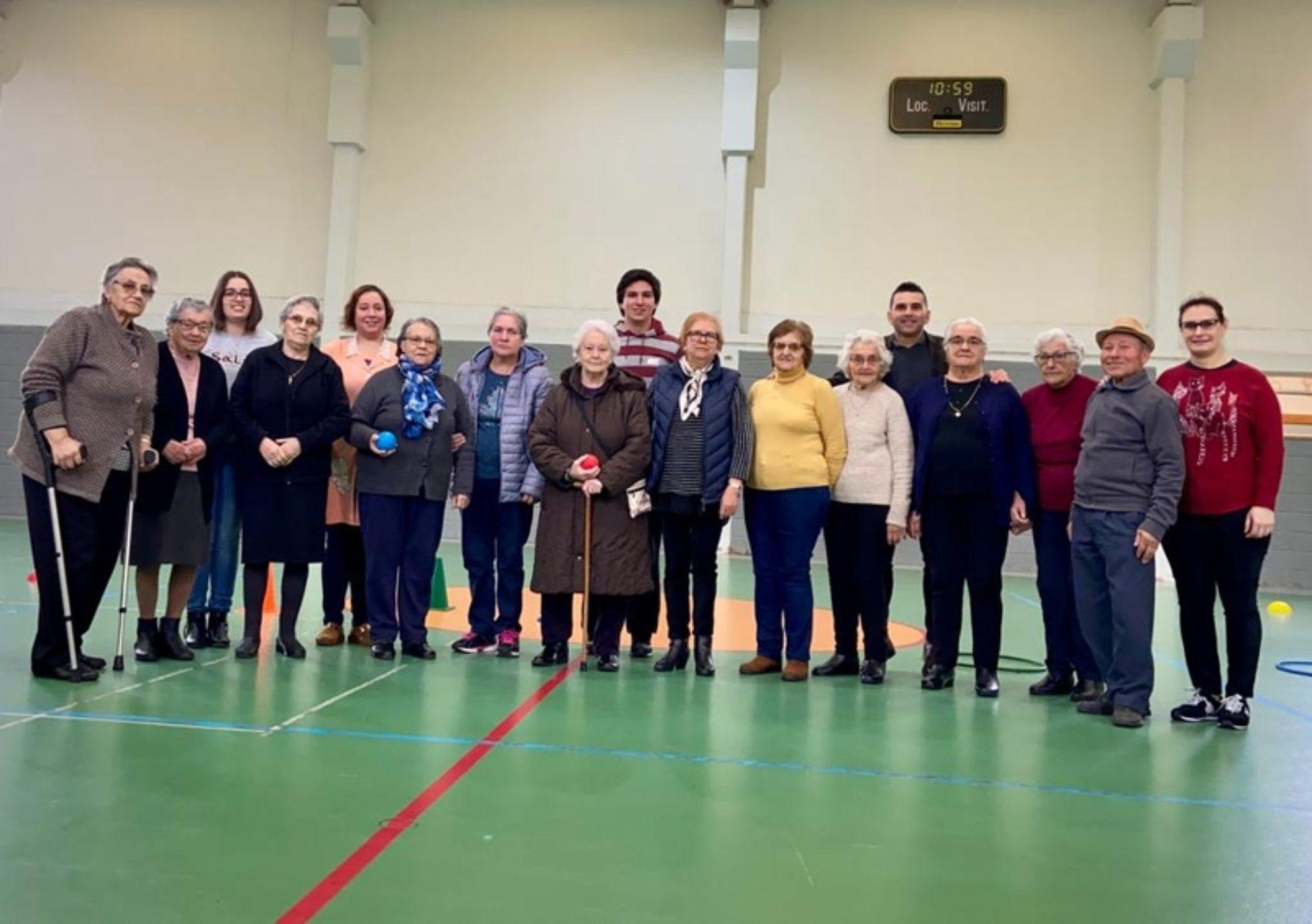 Município de Oliveira do Hospital dinamiza sessões de treinos Interinstitucionais de Boccia Senior