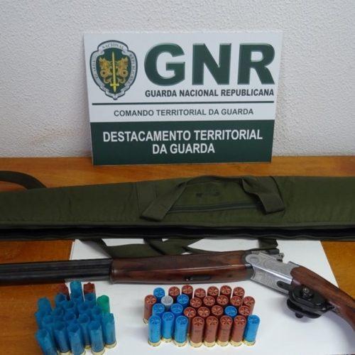 Região: Homem detido por caça ilegal