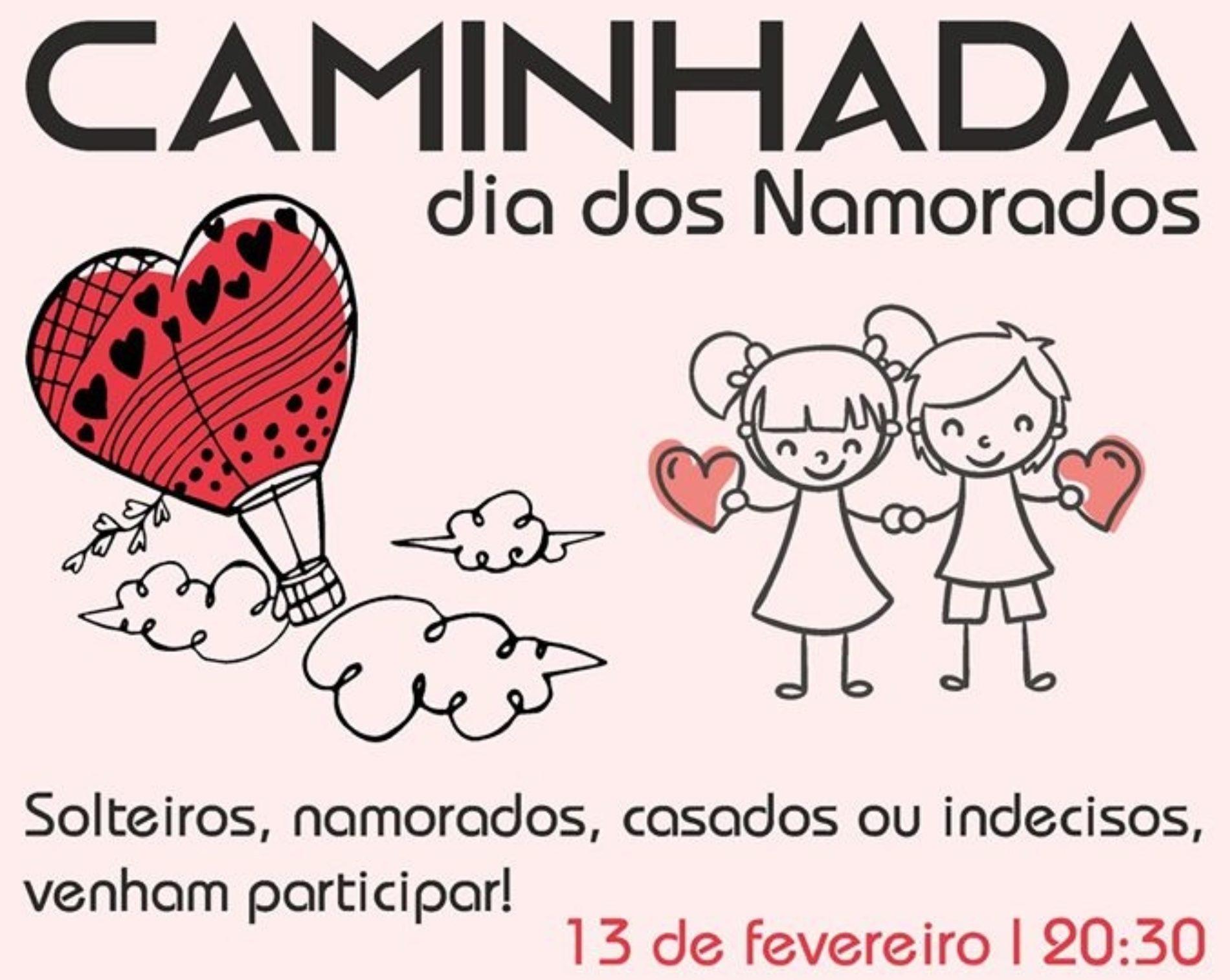 Câmara de Oliveira do Hospital convida a caminhar para assinalar o Dia dos Namorados
