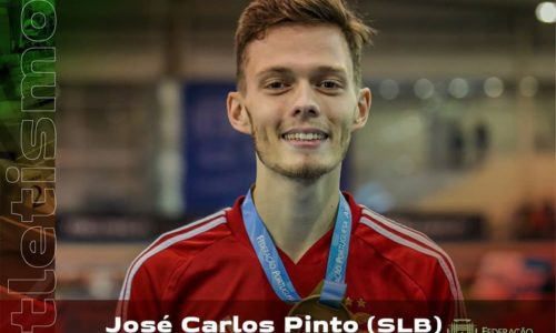 Lagarense José Carlos Pinto sagra-se Campeão de Portugal em 800 metros- Pista Coberta