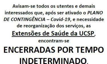 Centro de Saúde de Oliveira do Hospital e extensões com novas regras de funcionamento devido ao COVID-19
