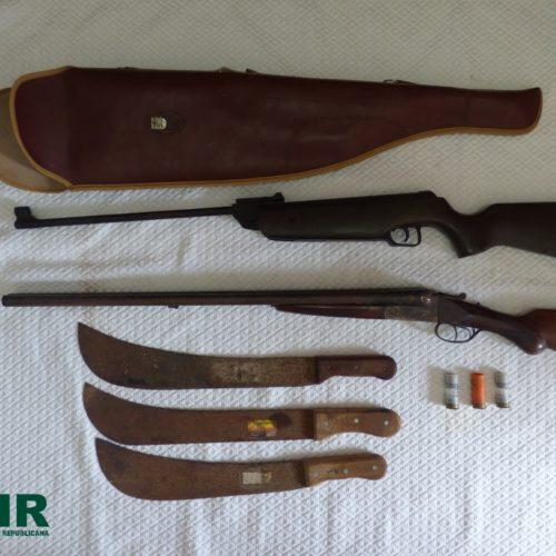 Montemor-o-Velho: GNR apreende armas no âmbito de violência doméstica