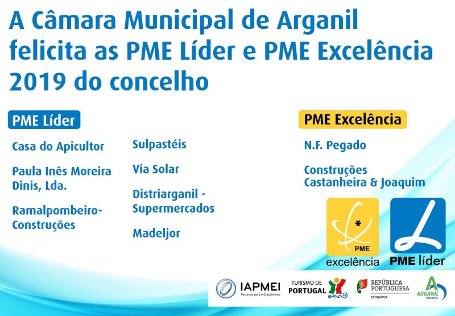 Arganil triplica número de PME Excelência e PME Líder
