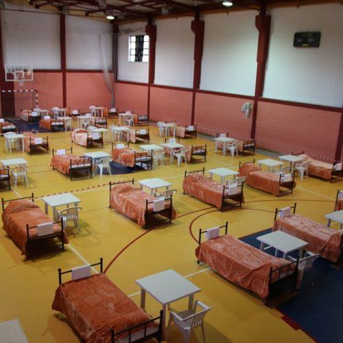 Covid-19: Câmara de Arganil instala hospital de campanha no pavilhão da EB 2,3 de Arganil