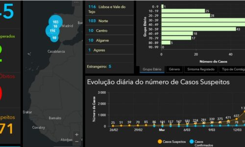 COVID-19  Relatório de situação epidemiológica actual em Portugal