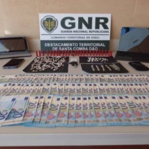 Tábua: Detido por tráfico de estupefacientes