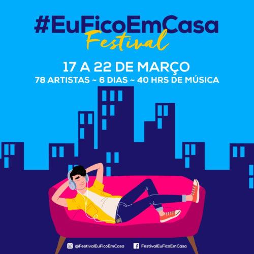 Artistas unem-se em iniciativa inédita em Portugal para sensibilizar a população a ficar em casa