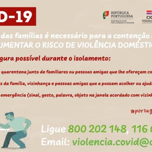 Governo alerta: isolamento pode aumentar risco de violência doméstica