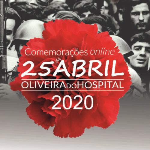Município de Oliveira do Hospital celebra 25 de Abril na internet