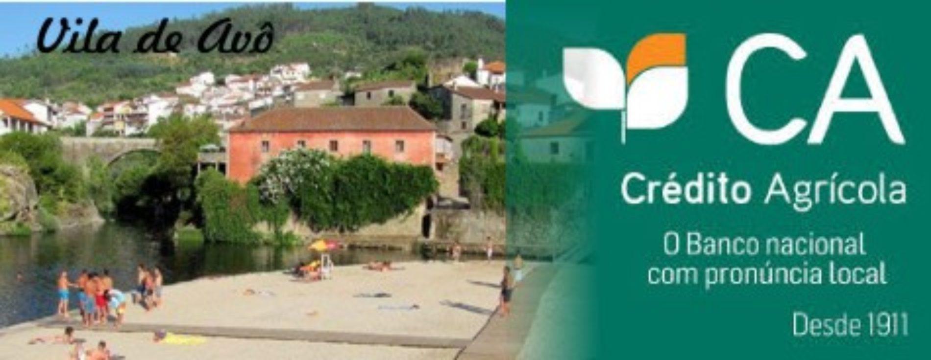 Agência da Caixa de Crédito Agrícola, em Avô, abre portas para que a população possa levantar dinheiro e reformas