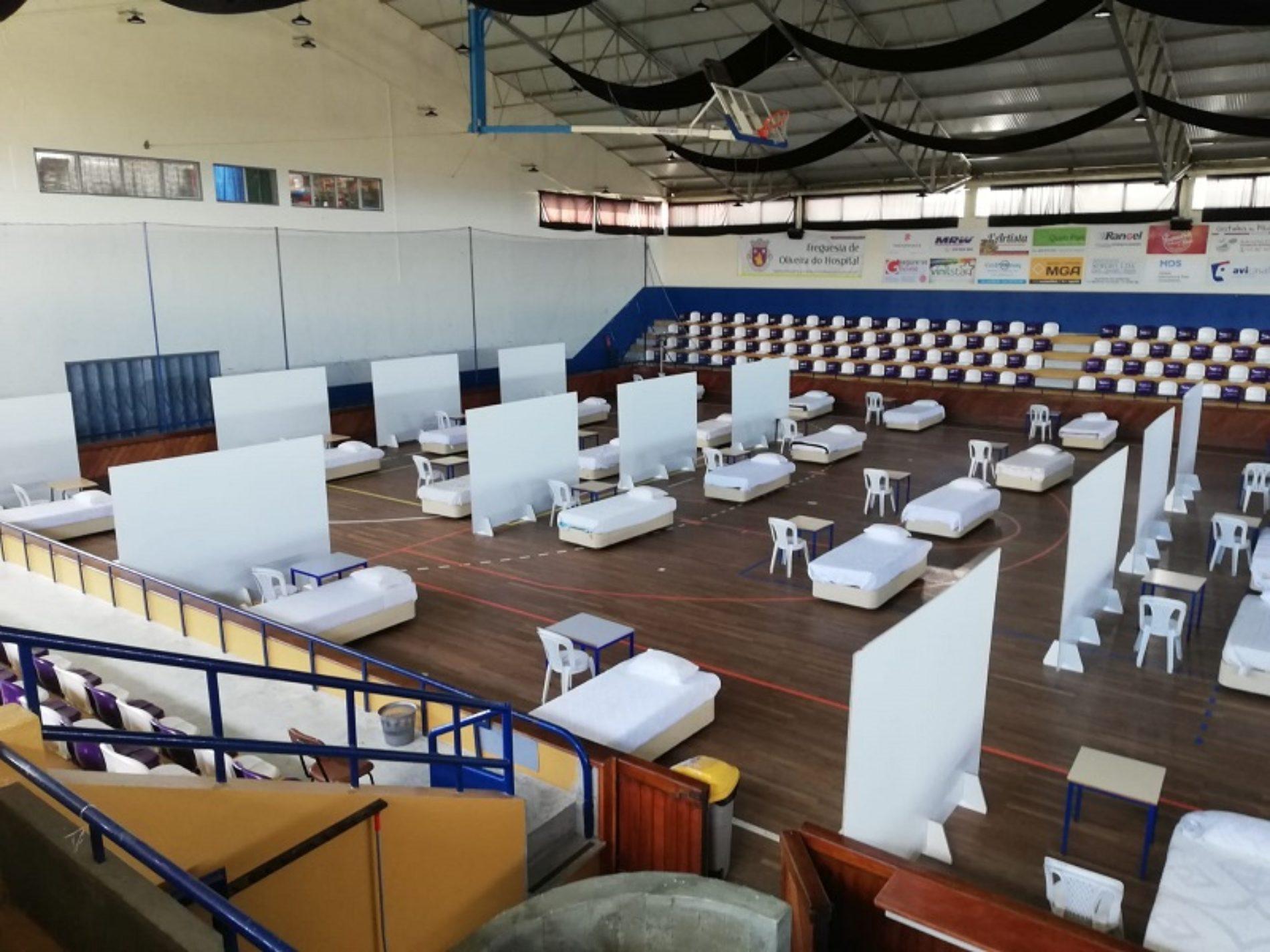 Município de Oliveira do Hospital cria centros de acolhimento com capacidade para 200 camas