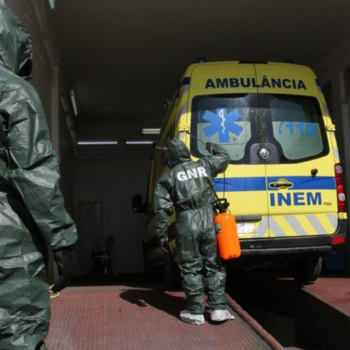 Covid-19: GNR descontaminou cerca de 1700 ambulâncias e 50 instalações
