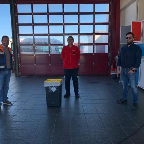 CIM Região de Coimbra cria rede de contentores para a deposição de equipamentos de proteção individual
