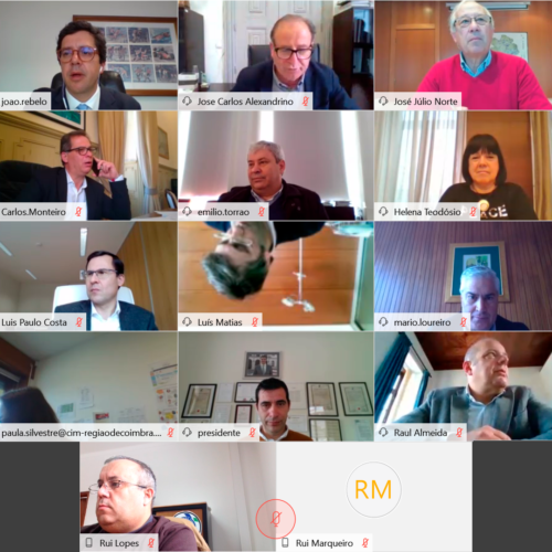 Municípios da Região de Coimbra articulam medidas de apoio a famílias e empresas da Região