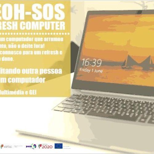 "AEOH promove ""SOS- Refresh Computer"""