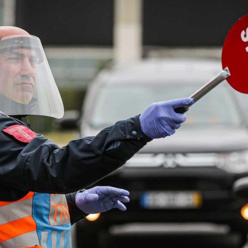 Páscoa: 87 pessoas detidas, 15 delas infetadas com Covid-19