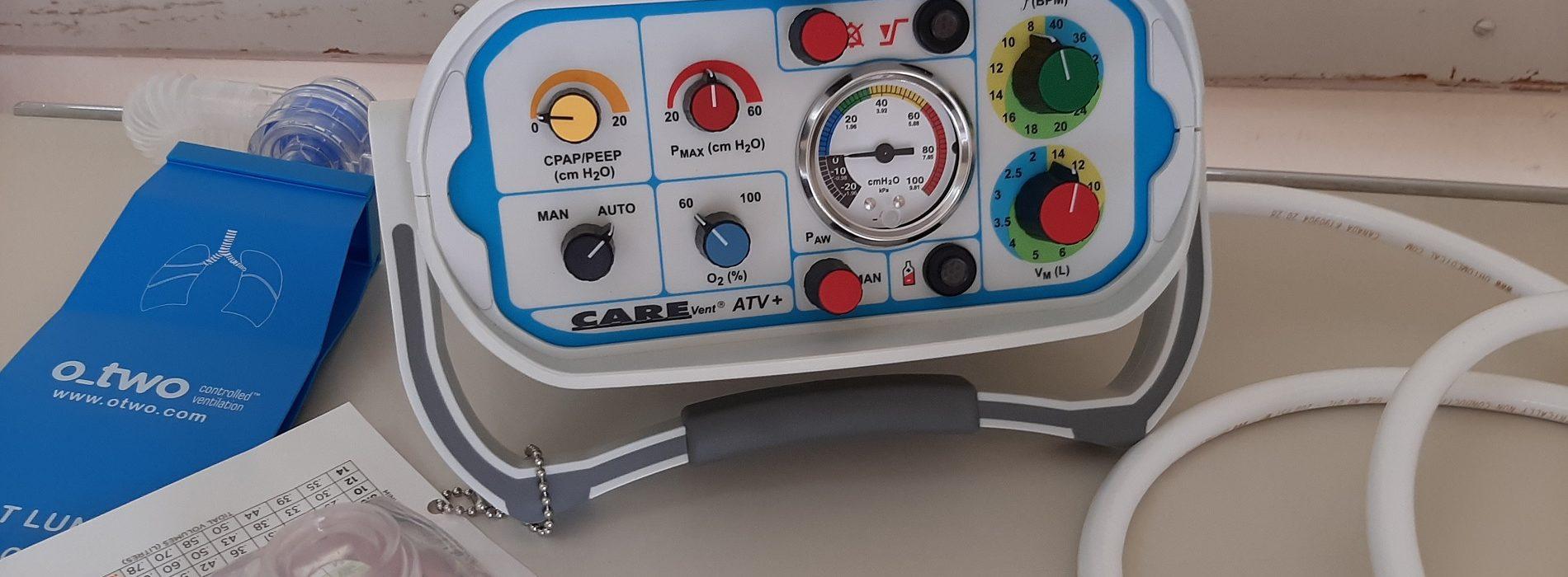 """Hospital da FAAD já recebeu ventiladores """"inovadores"""" e a quase totalidade dos monitores encomendados com o apoio do Município (com vídeo)"""