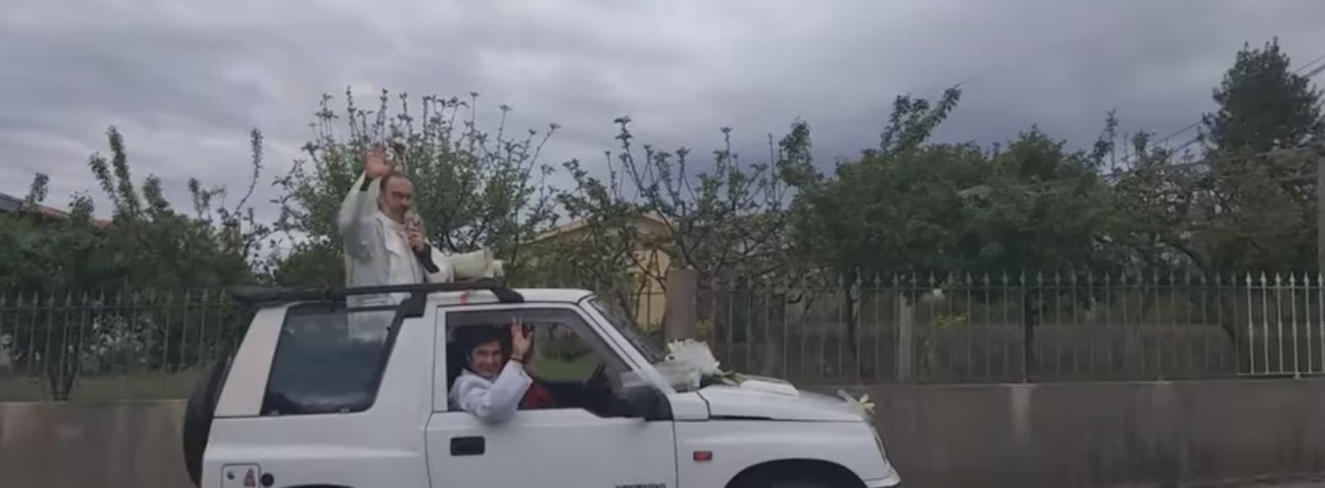 Párocos de Oliveira do Hospital realizaram Visita Pascal através de viatura com altifalante (com vídeo)