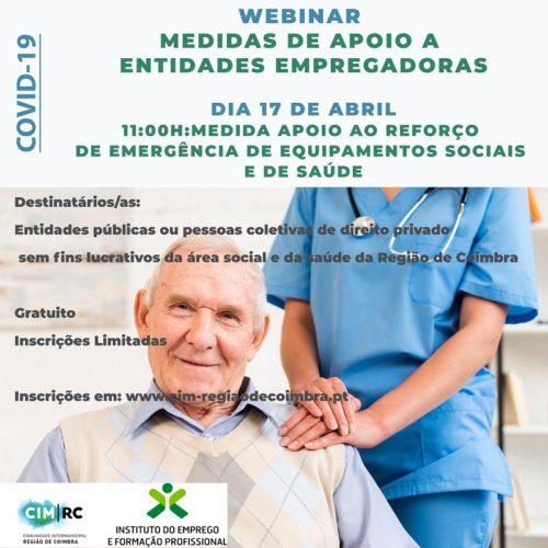 CIM da Região de Coimbra promove novas sessões do ciclo webinars