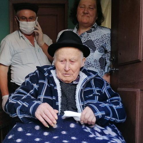 Albertino Formigo comemorou 100º aniversário à porta de casa em Aldeia das Dez (com vídeo)