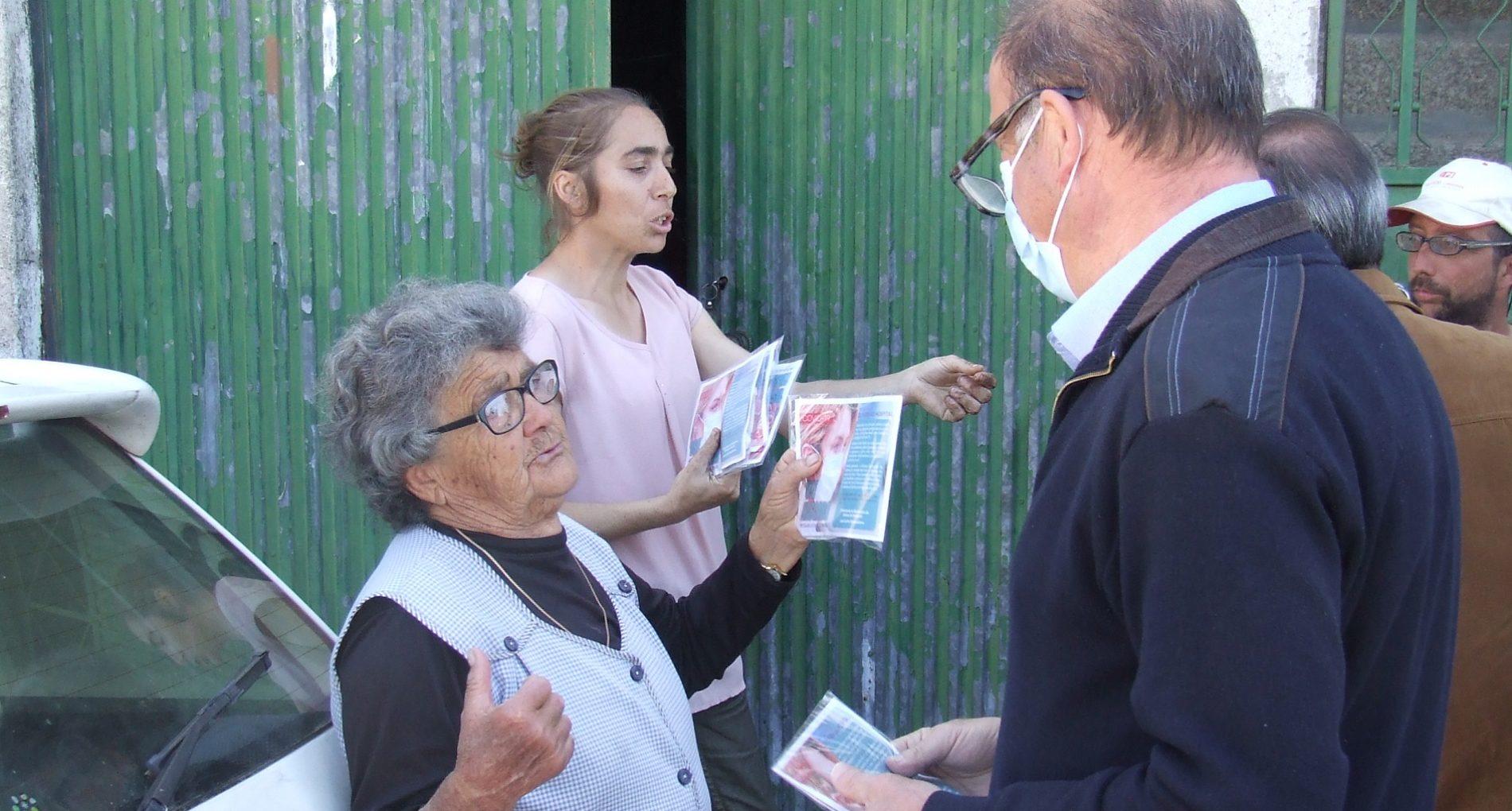 Município de Oliveira do Hospital iniciou distribuição de 48 mil máscaras pela população (com vídeo)