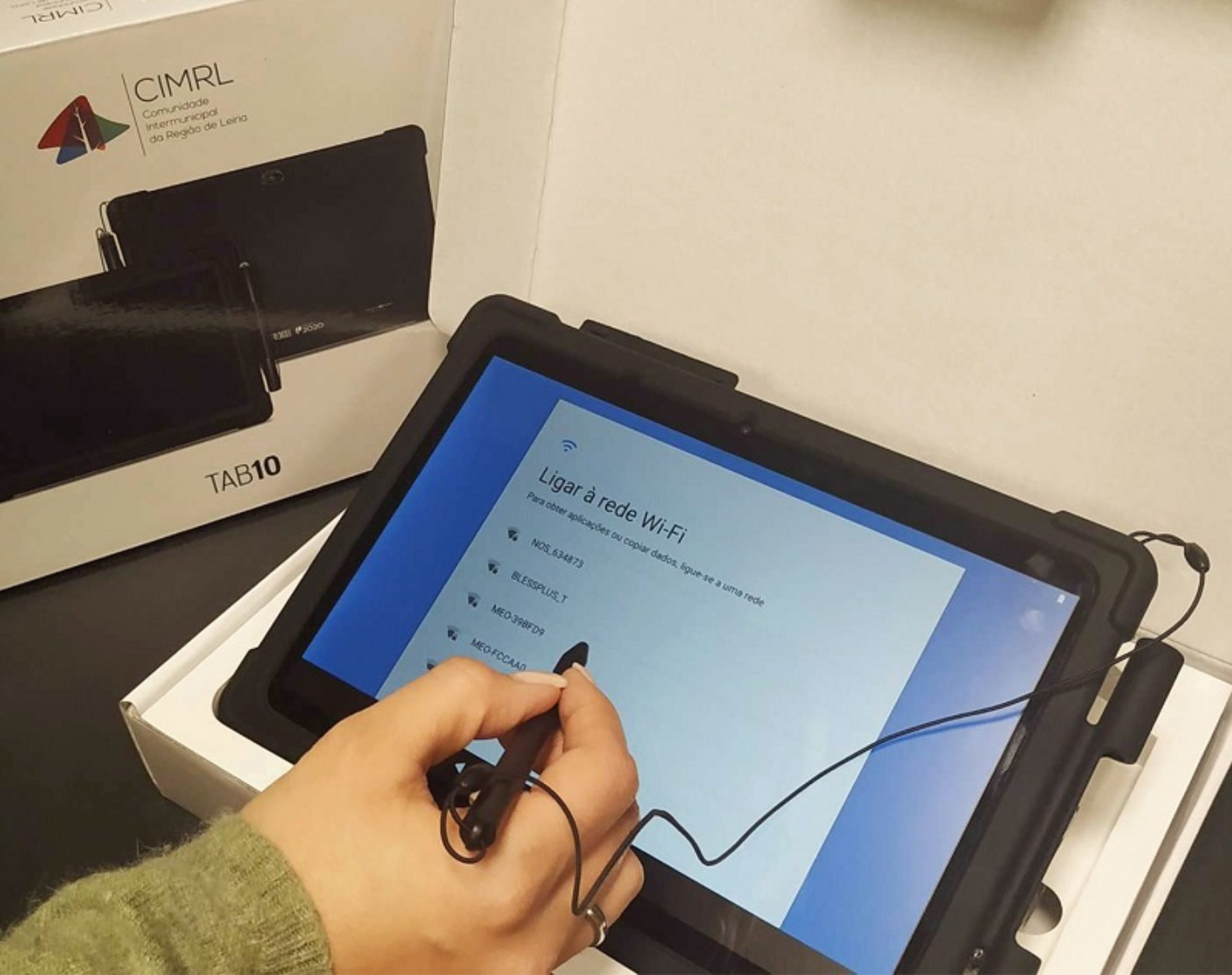 Comunidade Intermunicipal da Região de Leiria distribui 1515 tablets pelos 10 municípios associados