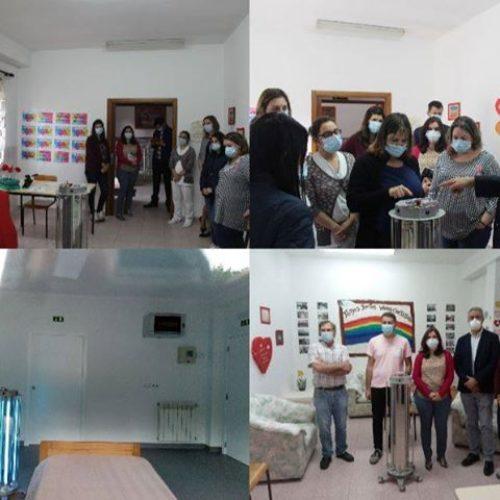 Casa do Povo de Cerdeira e Moura da Serra dispõe de equipamento de desinfeção através de ultravioleta