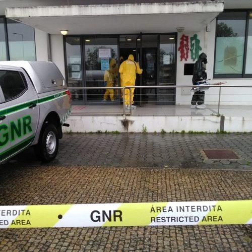 GNR descontaminou cerca de três mil ambulâncias e mais de 100 instalações