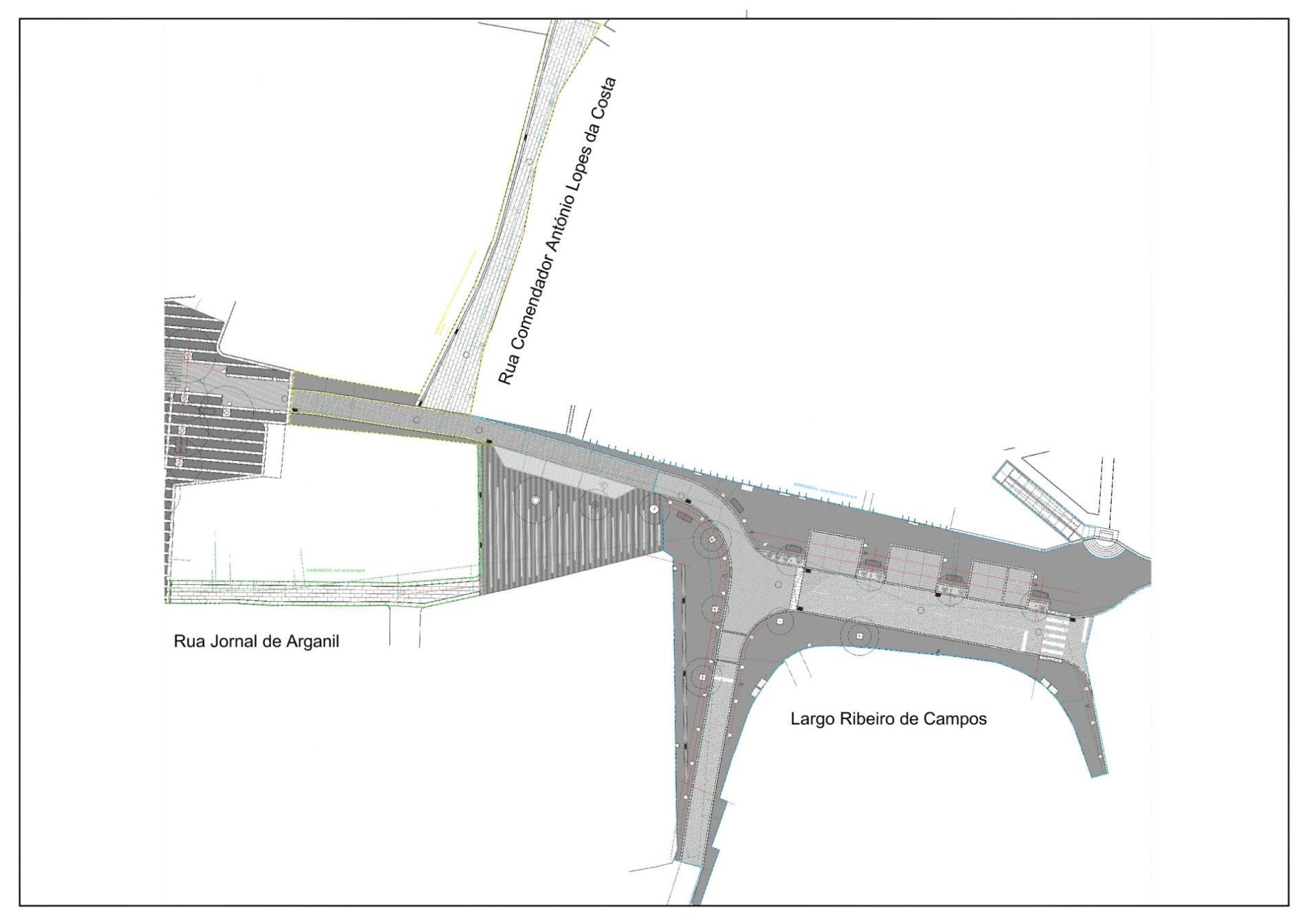 Município de Arganil avança com a requalificação do espaço público