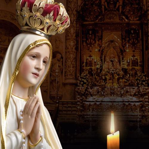 """Mês de Maria: Oliveirenses convidados a acompanhar """"procissão"""" à janela com vela acesa"""