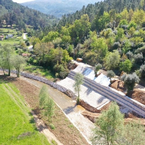 Município de Arganil conclui intervenções de regularização de linhas de água no rio Alva
