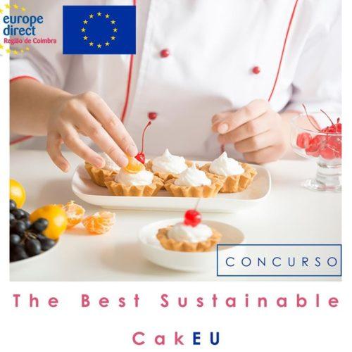 """Concurso """"The Best Sustainable CakE"""" premeia inovação culinária alusiva à Europa"""