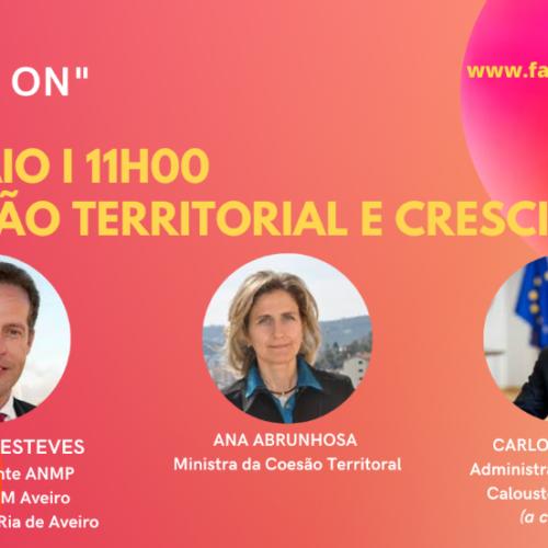 Ana Abrunhosa e José Ribau Esteves no próximo webinar temático do Turismo Centro de Portugal