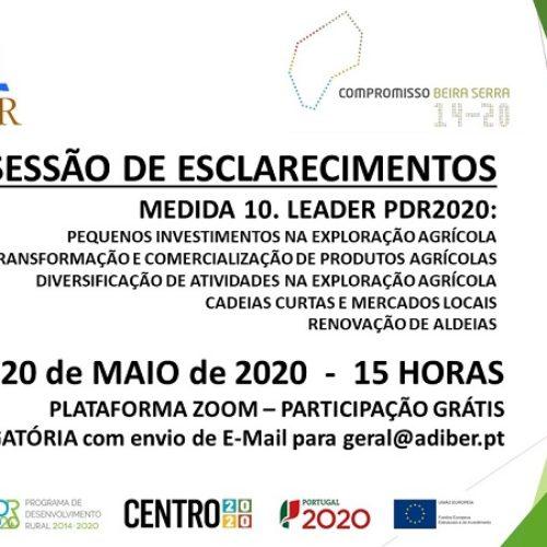 Adiber promove sessão de esclarecimentos dirigida a agricultores, produtores, potenciais investidores e parceiros
