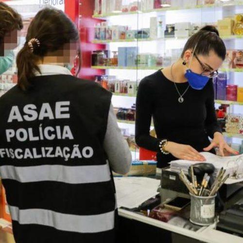 ASAE já apreendeu 582 mil máscaras e 23 mil litros de álcool-gel, no valor de mais de um milhão de Euros
