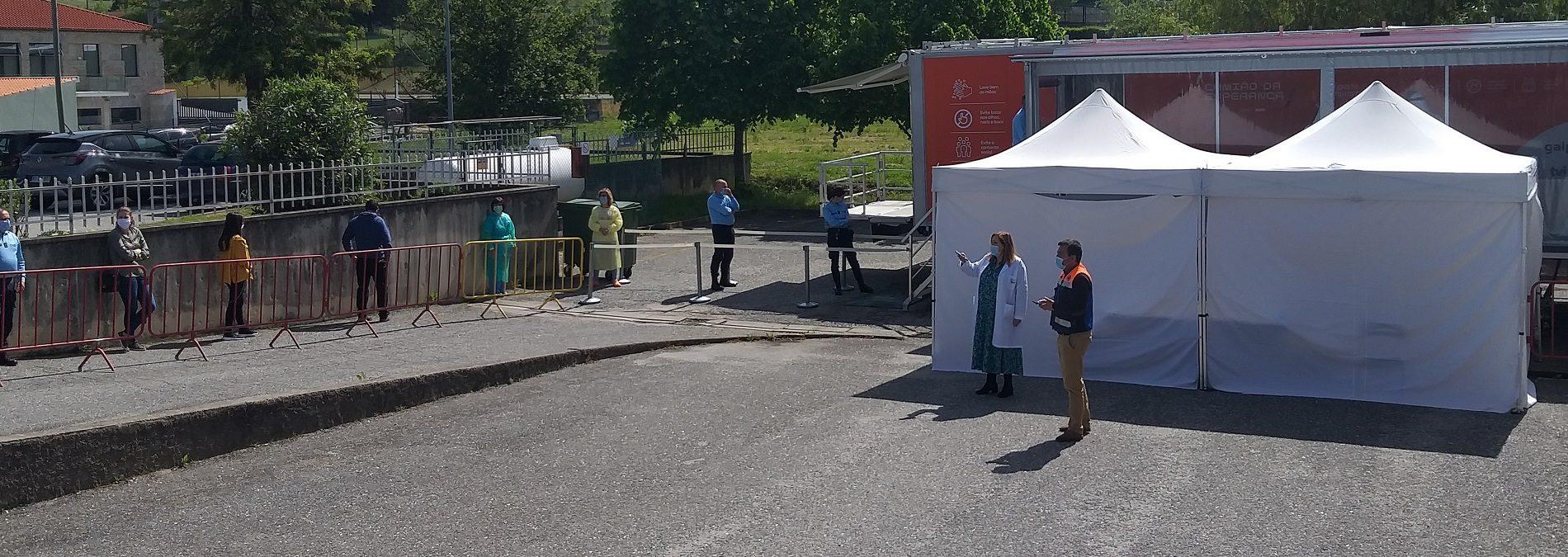 COVID-19: Camião da Esperança detetou um caso positivo em 210 testes realizados em Oliveira do Hospital