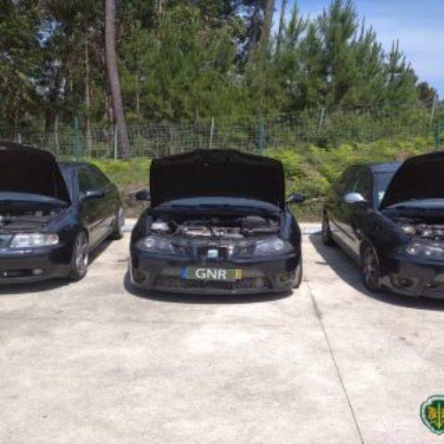 Região: GNR apreendeu três veículos em operação contra corridas ilegais