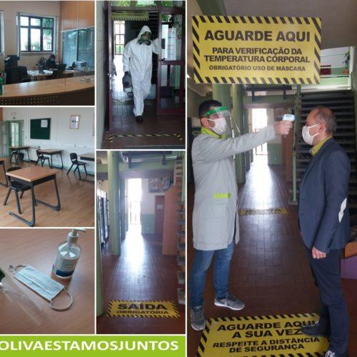 EPTOLIVA prepara regresso às aulas presenciais com clima de confiança