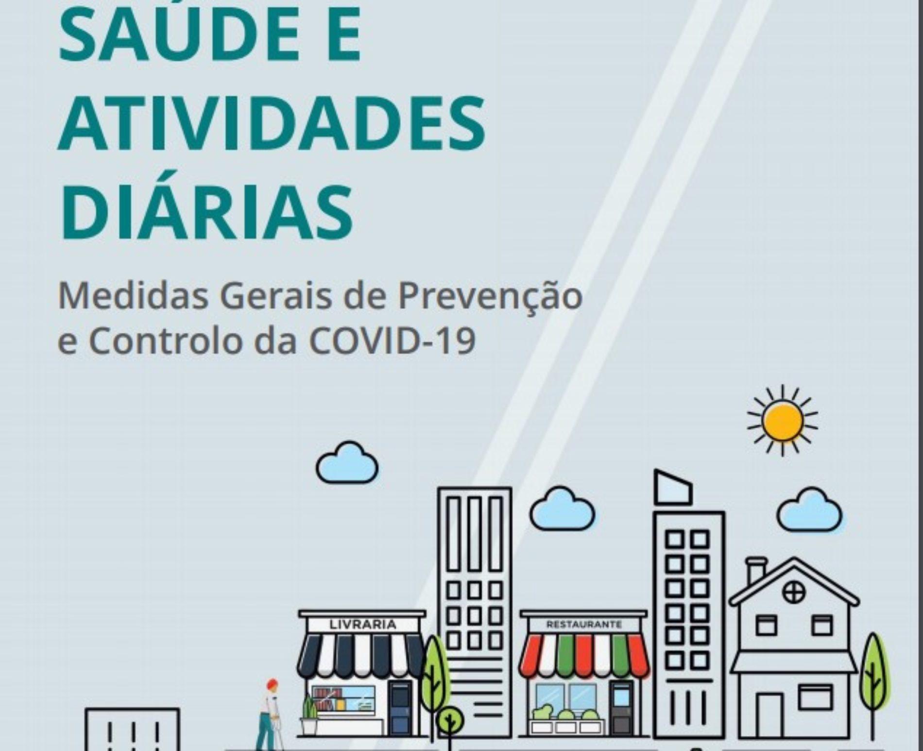 DGS publica manual de medidas gerais de prevenção e controlo da Covid-19