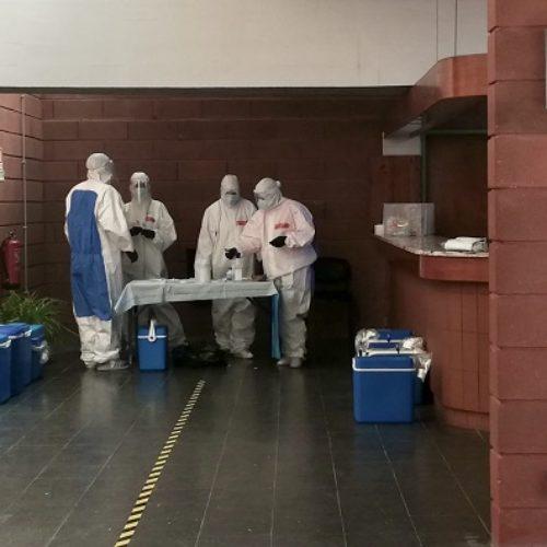 Nelas: Funcionários de instituições, creches e docentes realizaram testes de rastreio à Covid-19