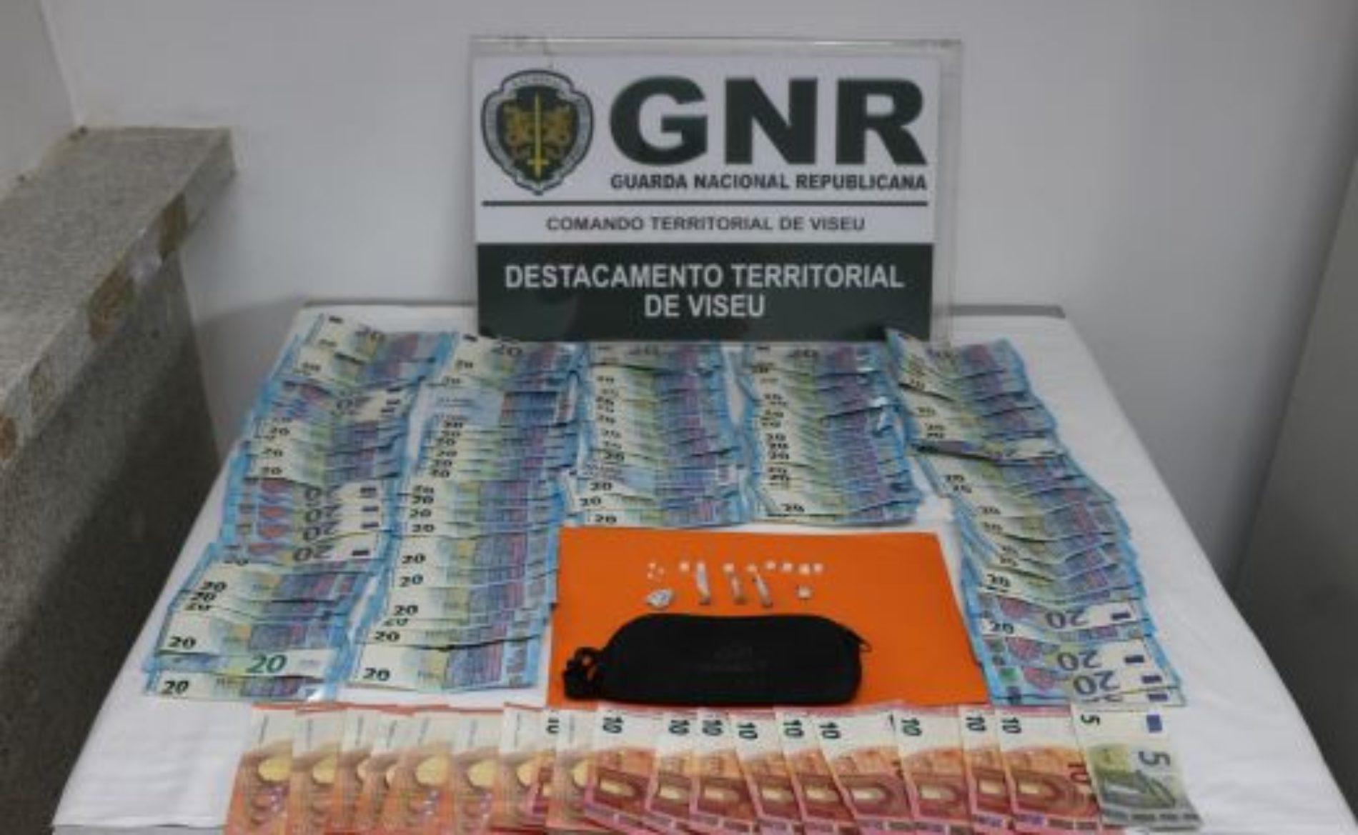 Viseu: Homem detido por tráfico de droga