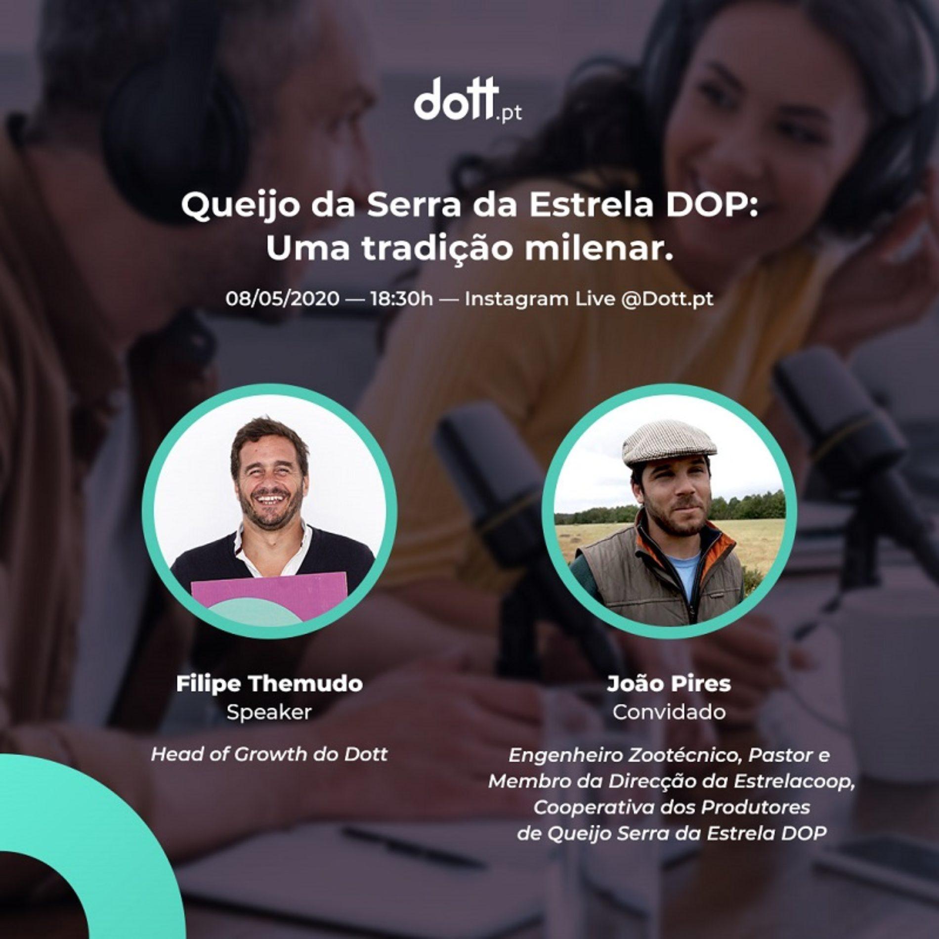 História milenar do queijo Serra da Estrela DOP apresentada em live stream
