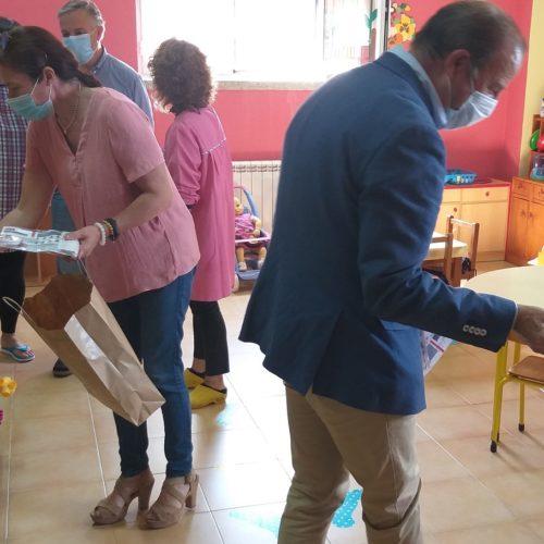 Mais de 100 crianças regressaram hoje ao pré-escolar em Oliveira do Hospital