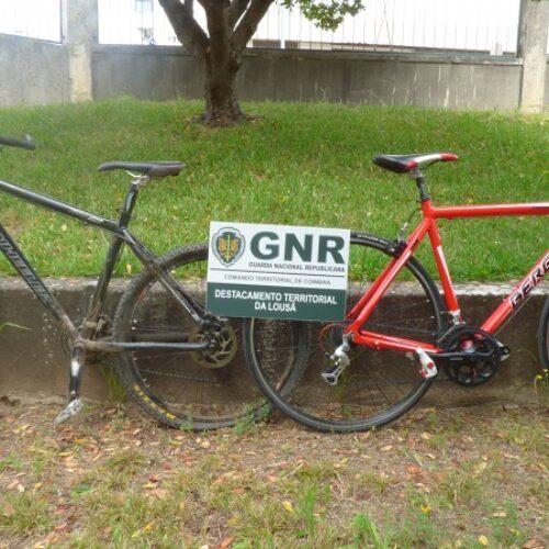 Lousã: GNR recupera bicicletas que tinham sido furtadas