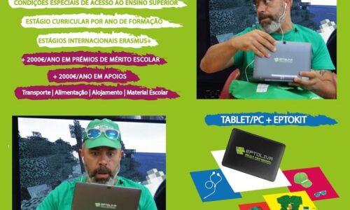Eptoliva aposta em prémios de mérito escola, PC/Tablet e inúmeros incentivos ao estudo para novos alunos
