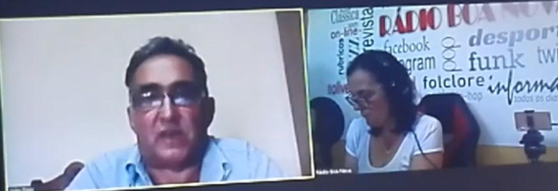 """Direito de Resposta: João Dinis diz não ter querela com Igreja, mas insiste com existência de """"promiscuidade"""" entre o presidente da Câmara e """"alguns párocos"""" (com vídeo)"""