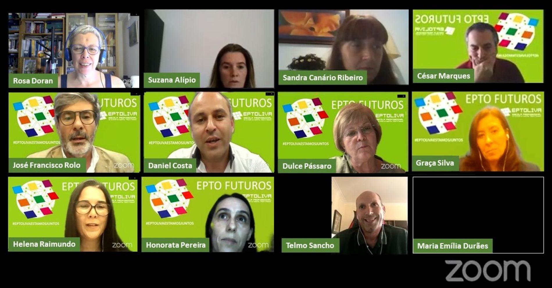Design, Ciência e Informática marcaram ciclo de conferências EPTO FUTUROS promovidas pela EPTOLIVA