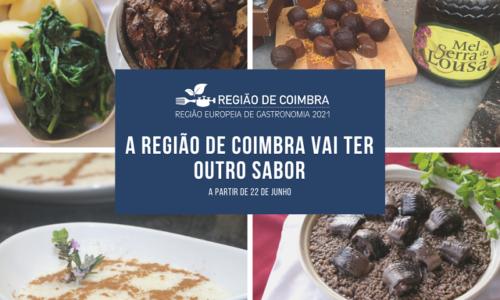 Taste Coimbra Region dá a conhecer o melhor da gastronomia da Região de Coimbra